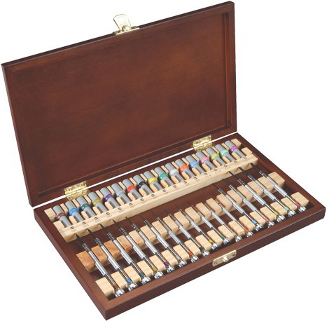 17 piece screwdriver set in box screwdrivers jewelry supplies tools equipment. Black Bedroom Furniture Sets. Home Design Ideas