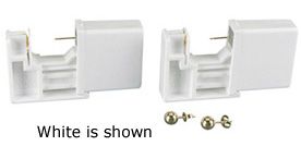 14K Yellow Gold Single Use Piercing Kit: 4 mm Size