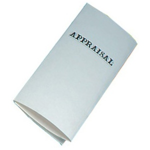Appraisal Sheet Cover: Pack of 10