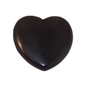 Heart Shape Flat Back Onyx: 15.0mm x 15.0mm :: Heart Shape Flat Back Onyx :: Flat Black Onyx ...