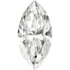 Forever Brilliant Marquise Moissanite: 4.0 x 2.0 mm