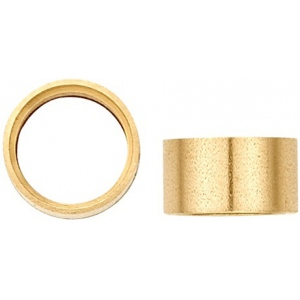 14K Yellow Gold Round Straight Bezel: 2.25 mm Diameter, 2.3 mm Height