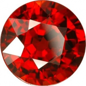 Synthetic Round Garnet: 1.50mm, 0.015cts