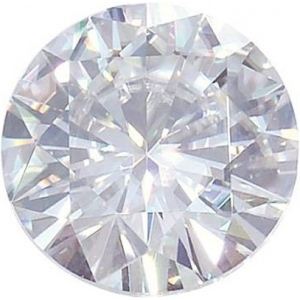 Round Moissanite: 1.70mm
