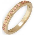 14k Yellow Gold Tsavorite Toe Ring: Size 2.5