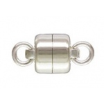 Sterling Silver Magnetic Clasp: 5.0 mm Size